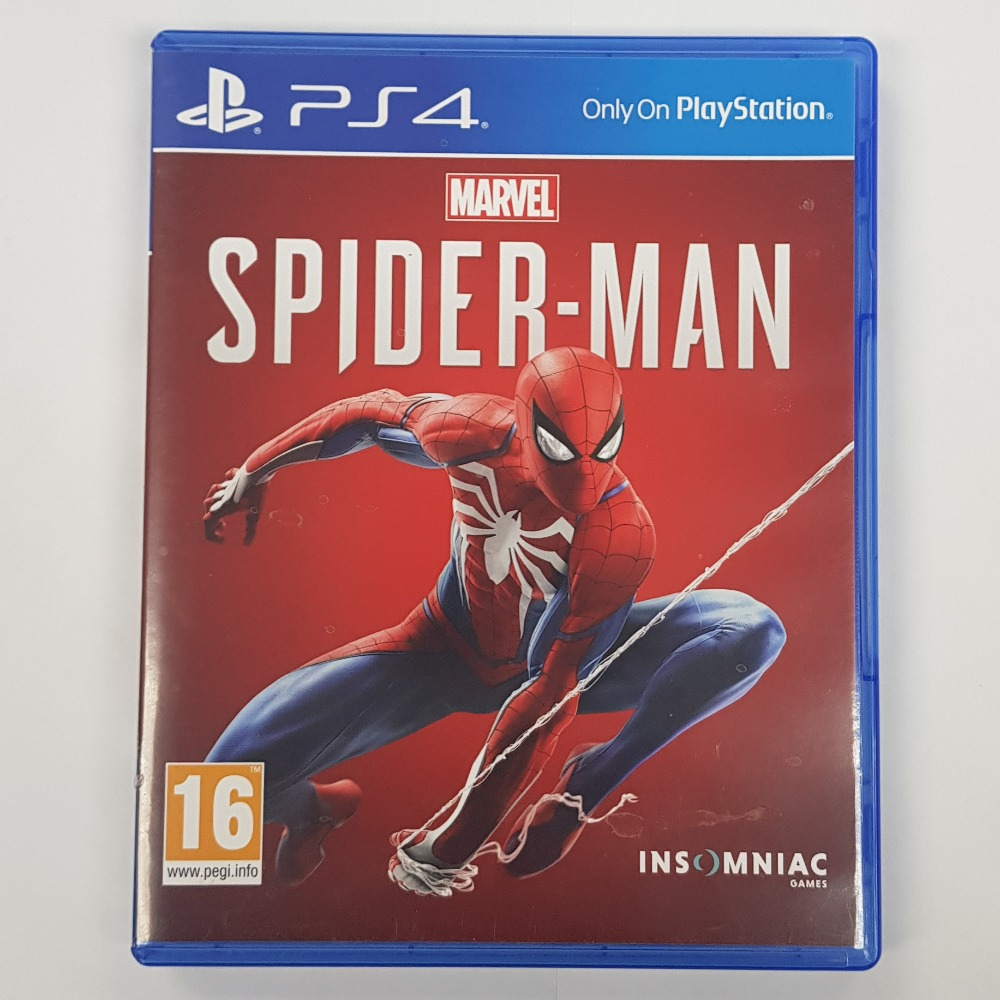 Product photo for Sony Marvels Spider-Man (PlayStation 4)