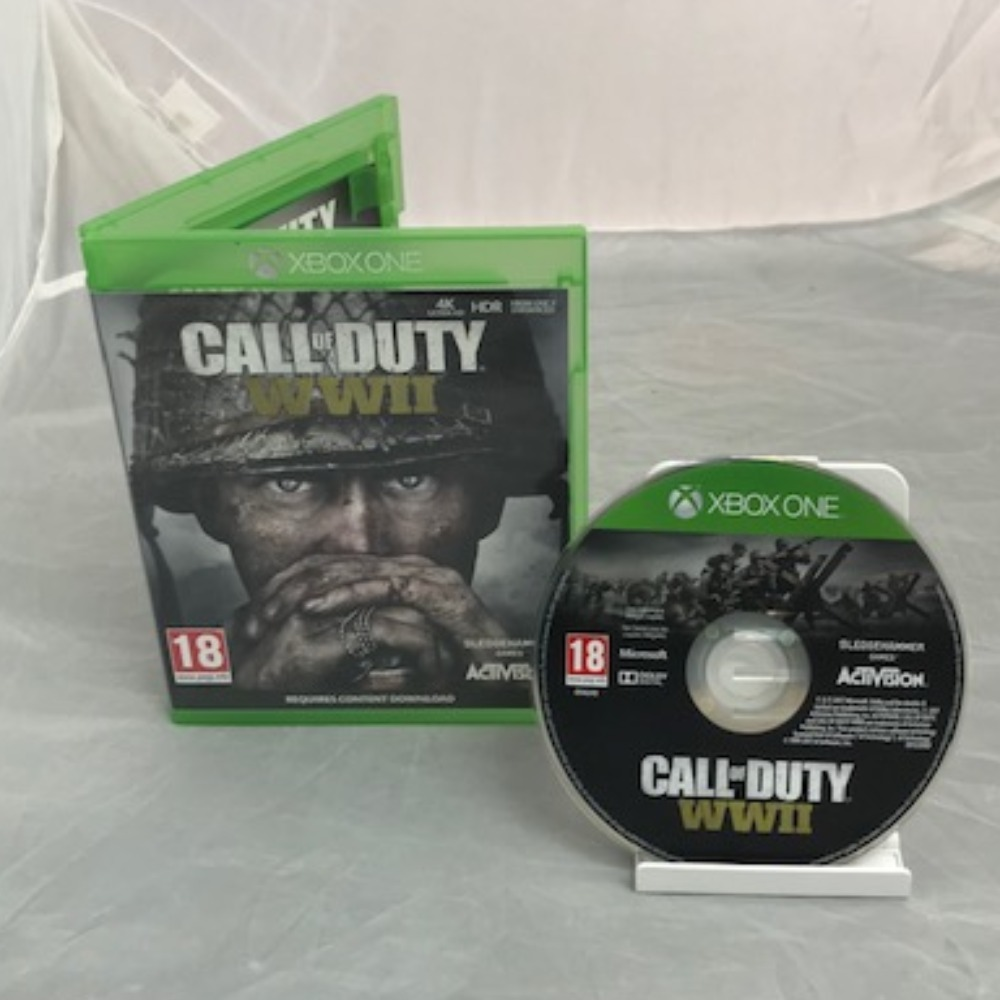Product photo for Xbox One Game Call of Duty: WWII