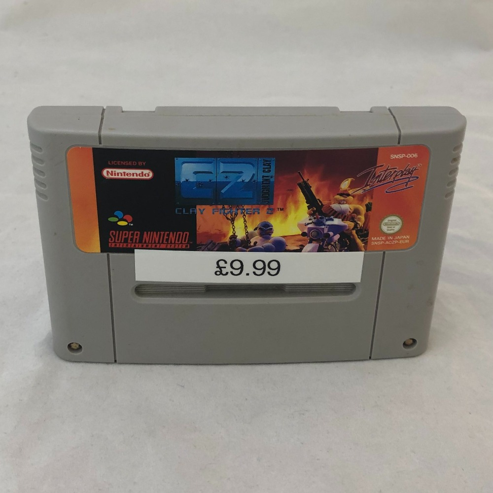 Product photo for Clay Fighter 2 Nintendo SNES