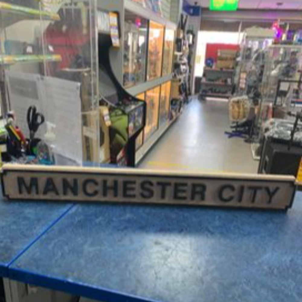 Product photo for Manchester City sign