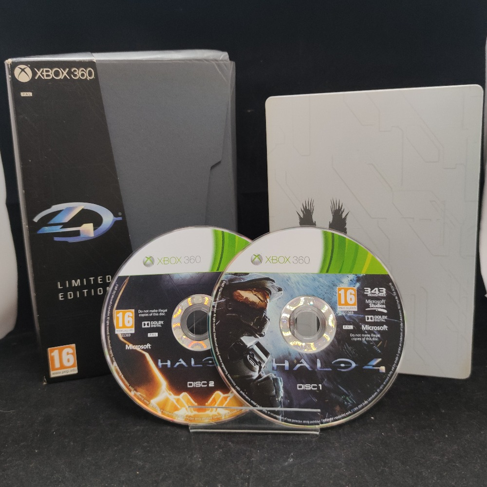 Product photo for  Microsoft Xbox 360 game Halo 4