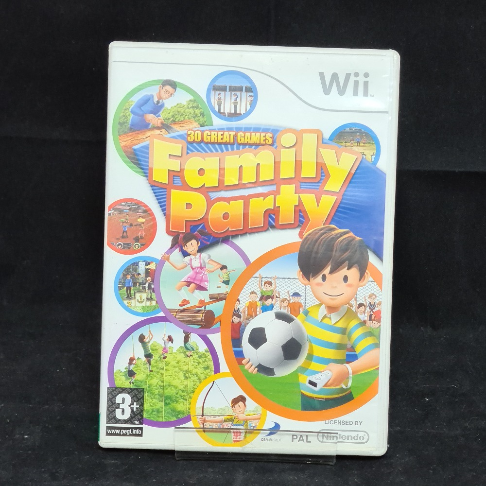 Product photo for Nintendo Wii Game Family Party