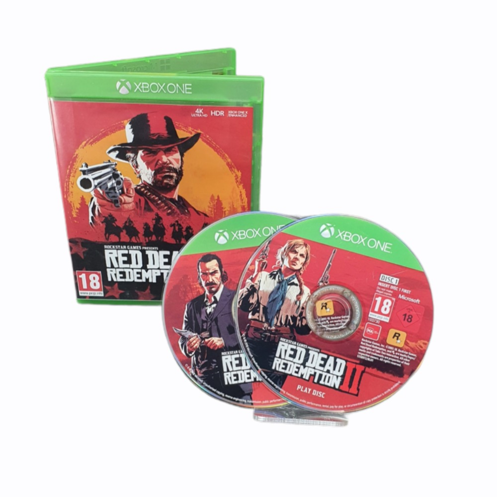 Product photo for Red Dead II - Xbox One