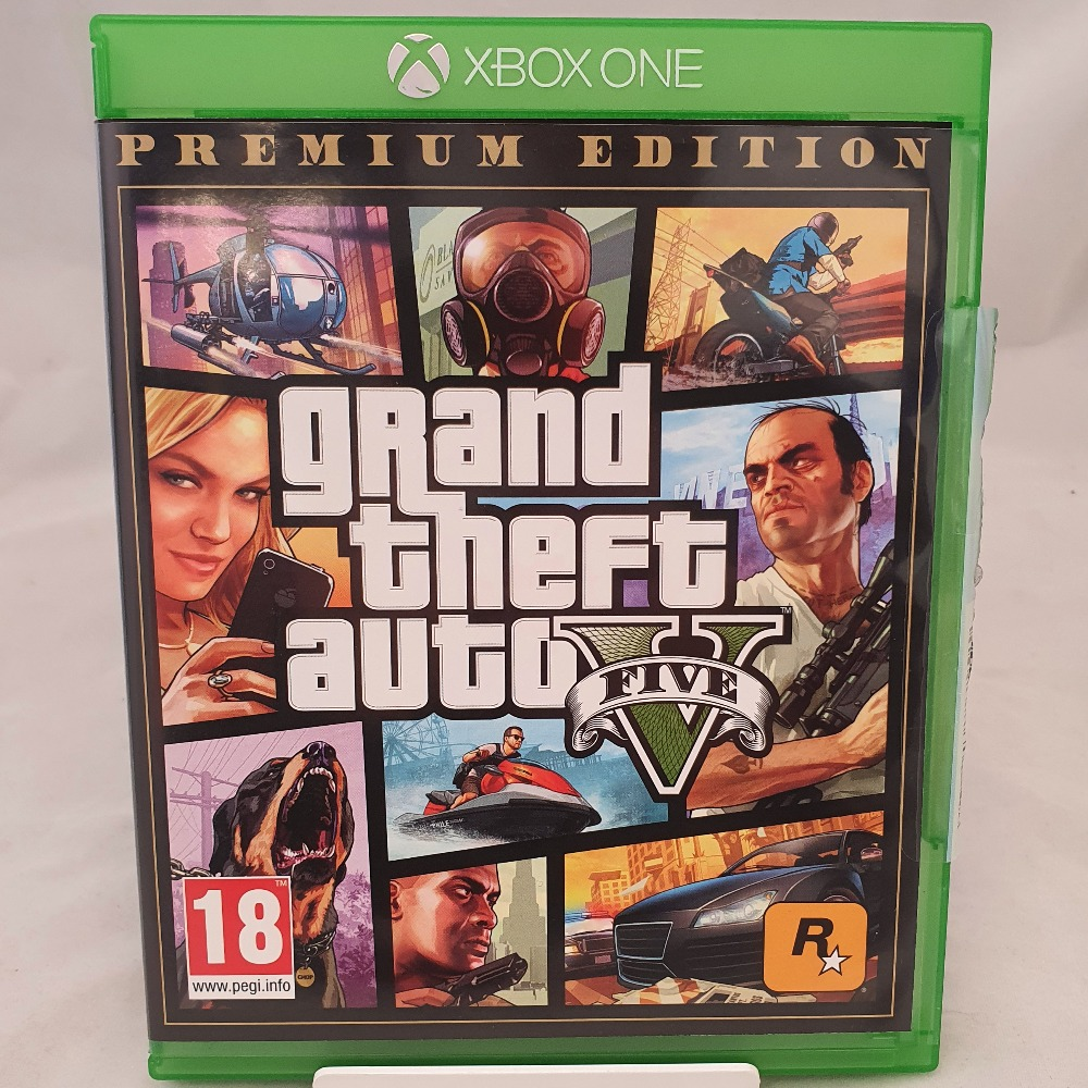Product photo for  Xbox one game GTA V