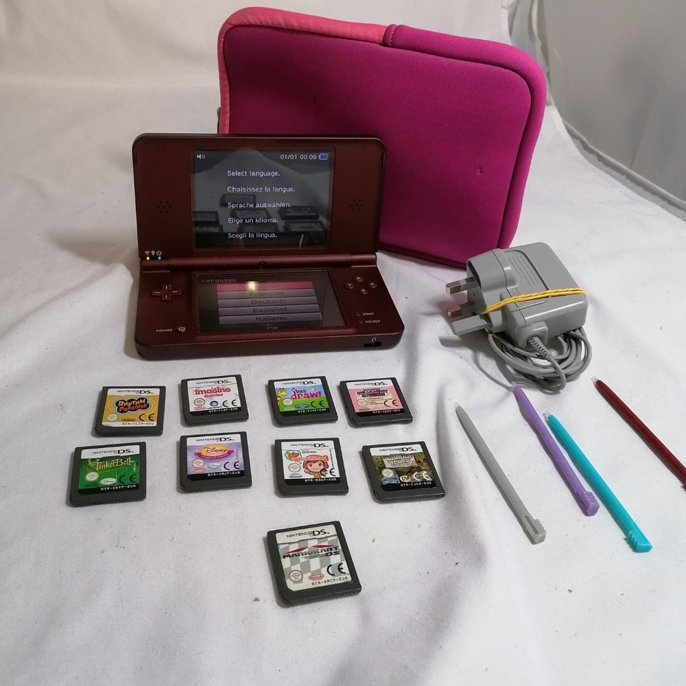 Product photo for Nintendo 2DSi XL- With Games