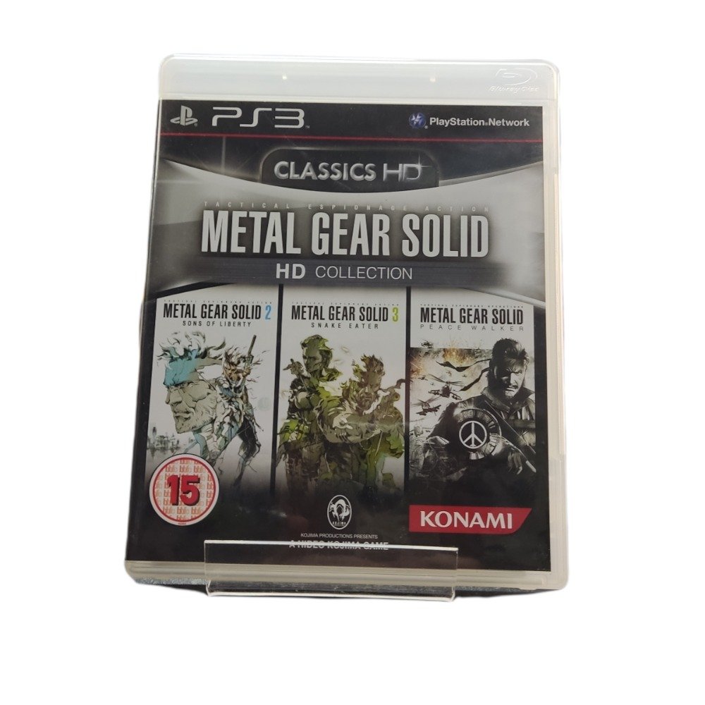 Product photo for Playstation 3 Game Metal Gear Solid Collection