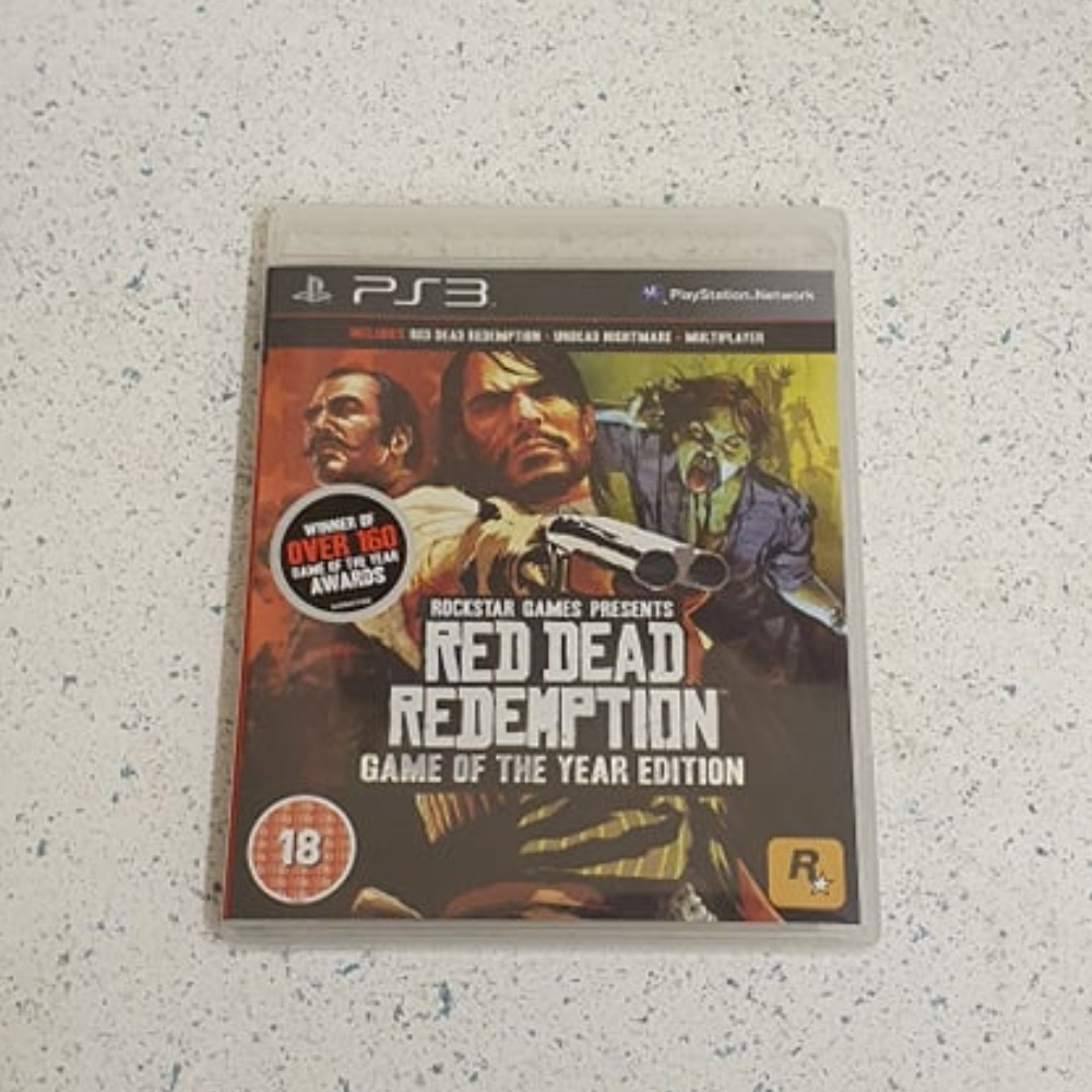 Product photo for Sony PlayStation 3 game Red Dead Redemption ps3