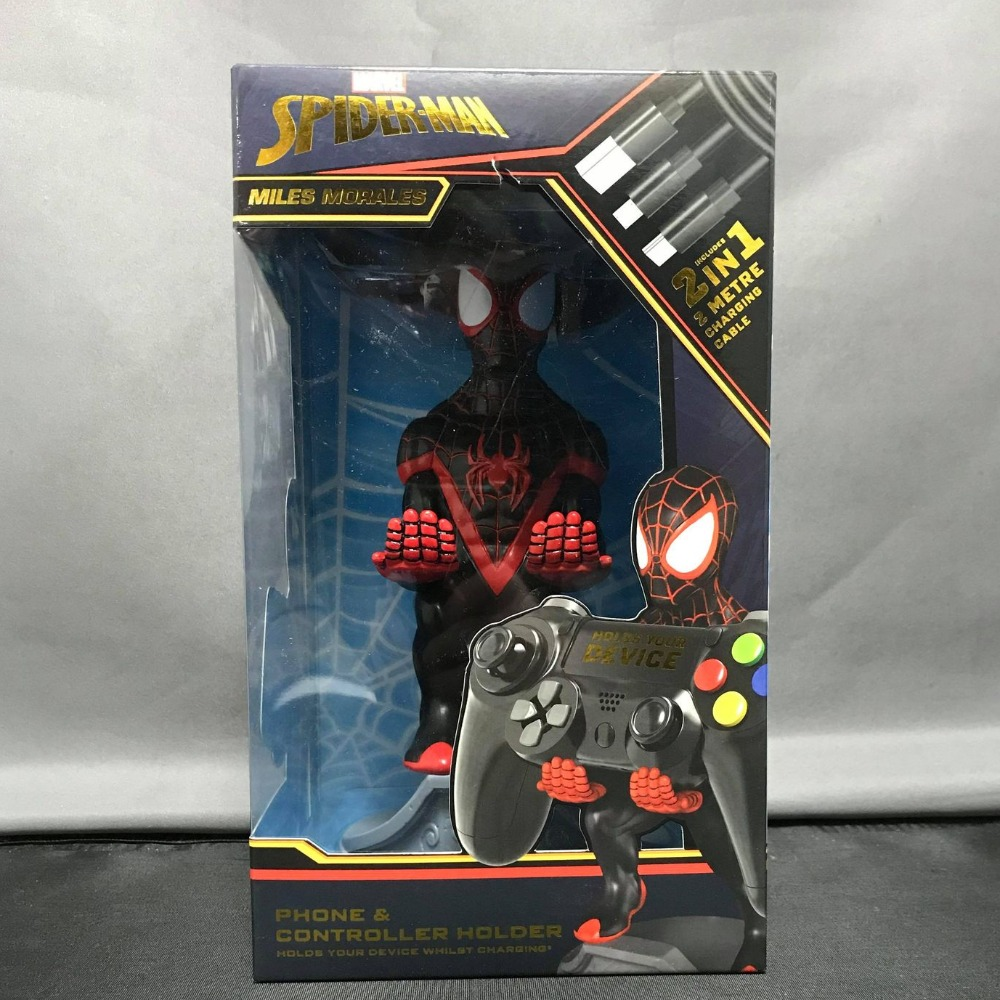 Product photo for Marvel Spiderman Cable Guy Controller / Phone Holder