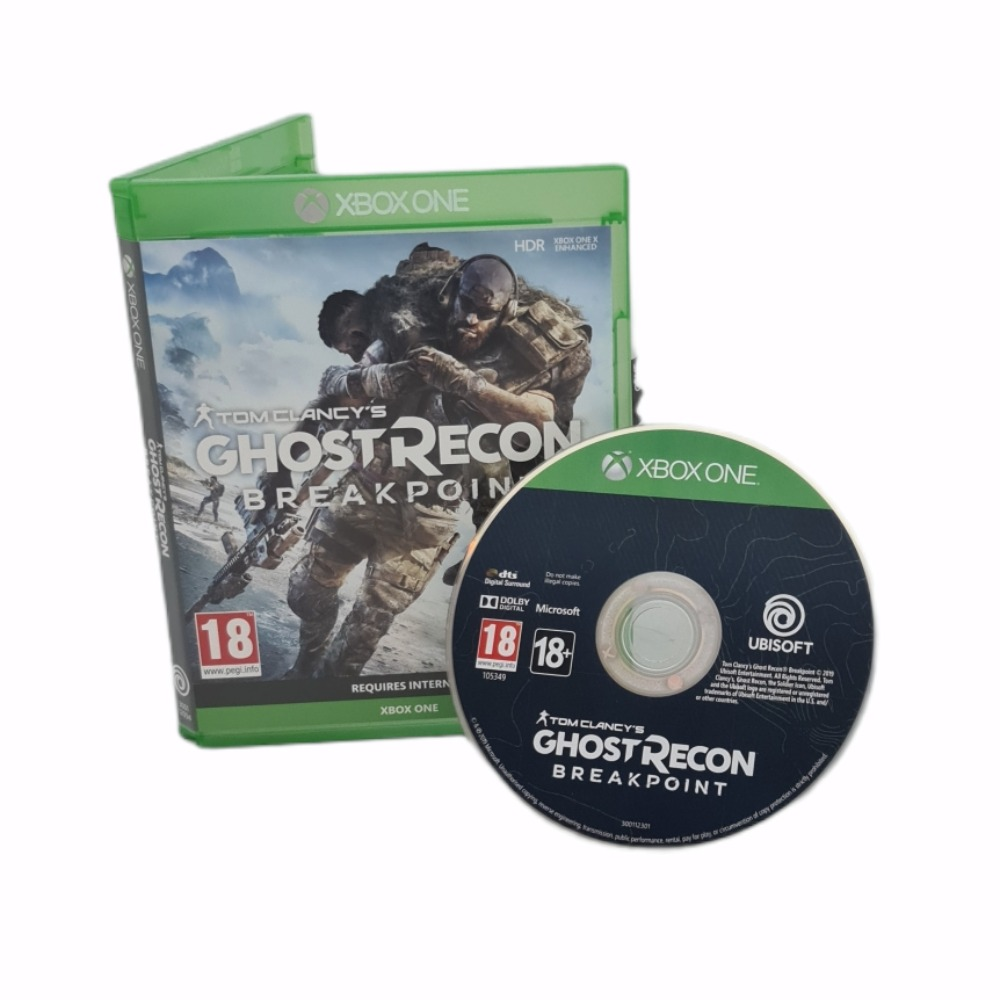 Product photo for Xbox One Game Ghost Recon Breakpoint