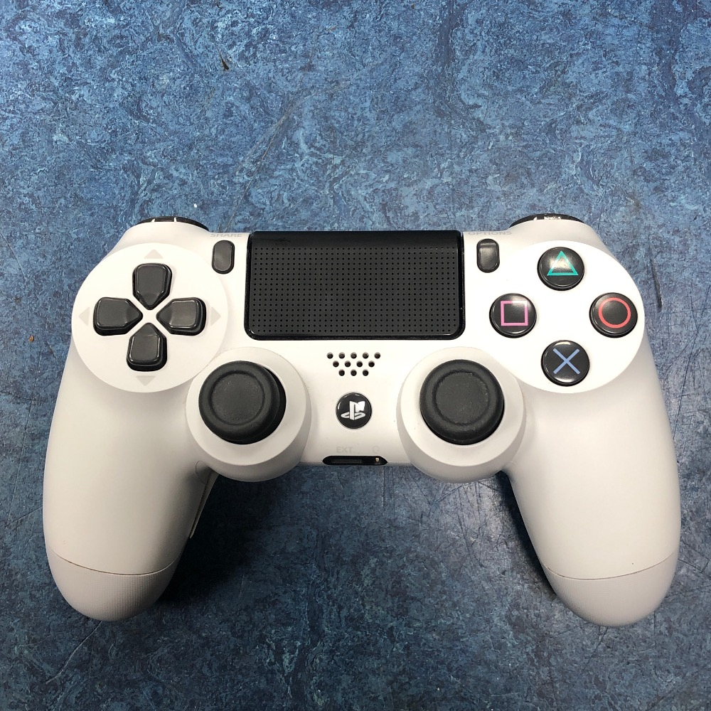 Product photo for Sony ps4 glacier white controller