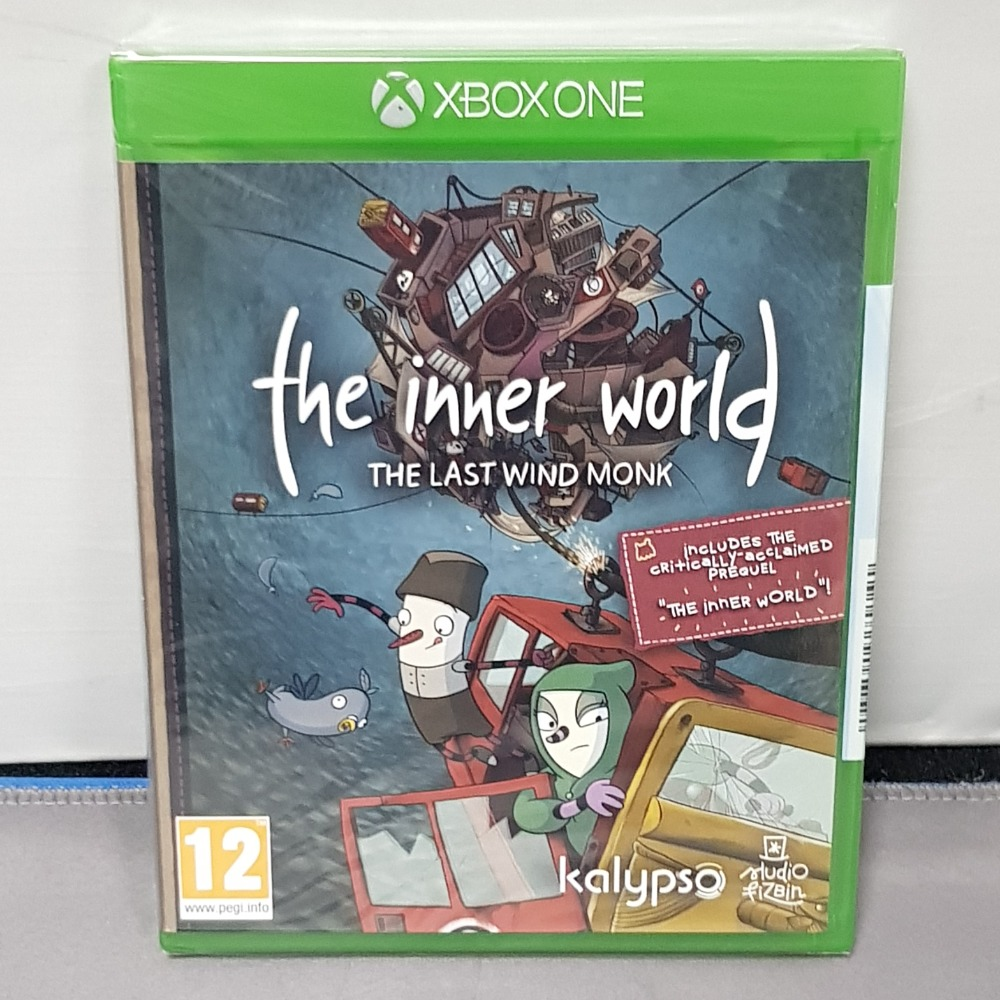 Product photo for The Inner World The Last Wind Xbox One