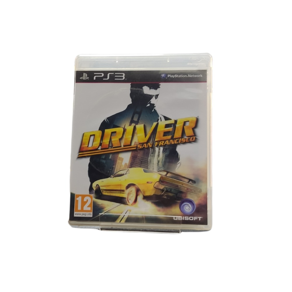 Product photo for Playstation 3 Game Driver San Francisco