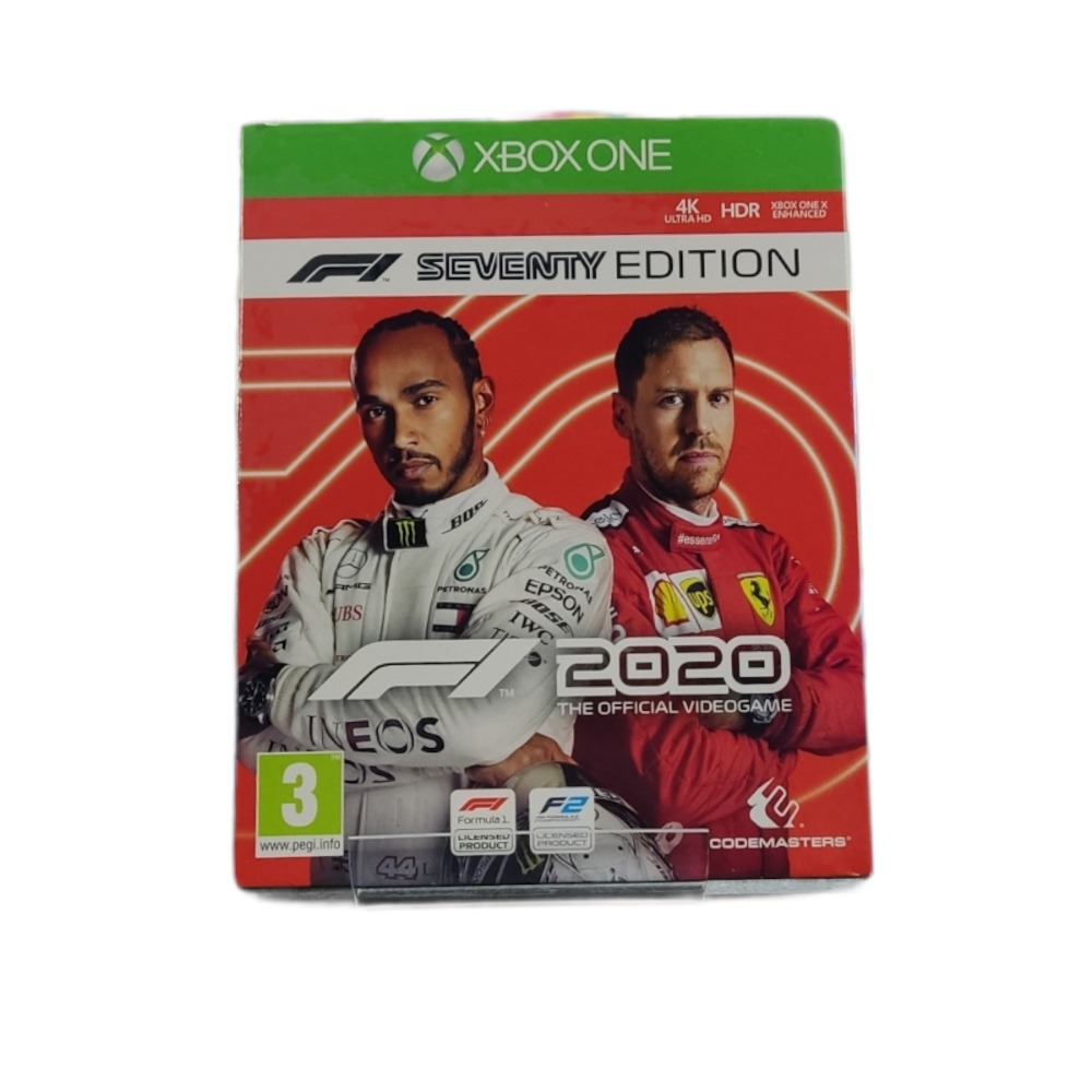 Product photo for  Microsoft Xbox one game F1 2020