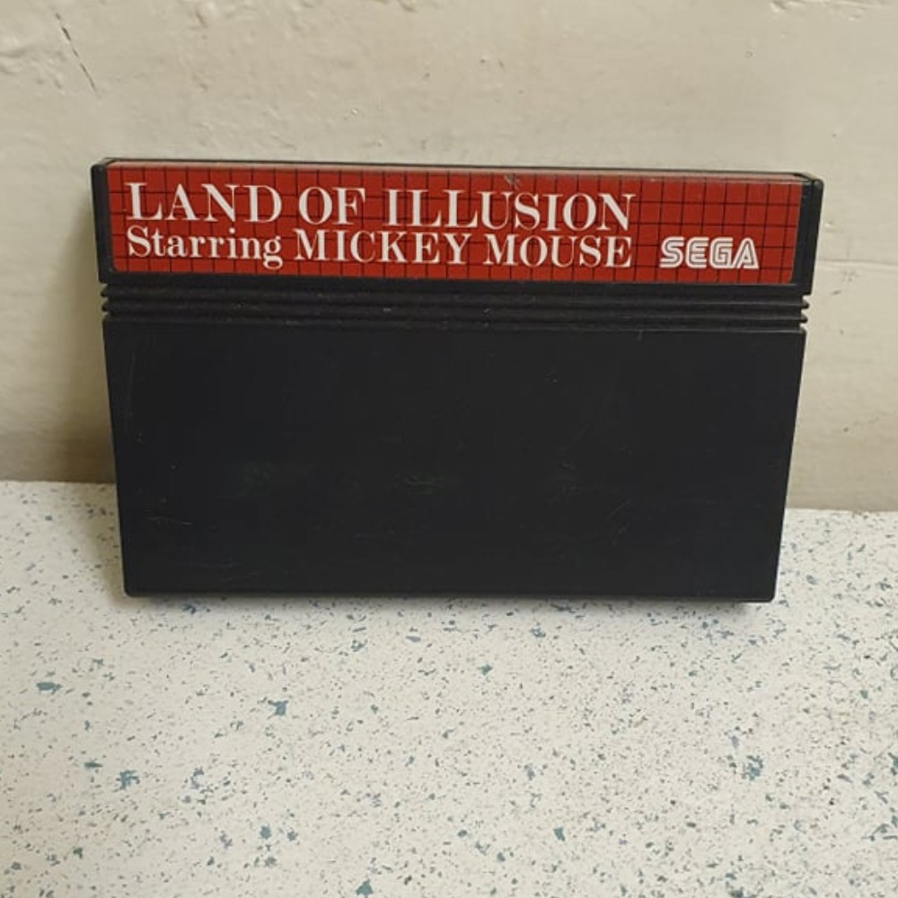 Product photo for Sega Master System Game Land of Illusion Starring Mickey Mouse