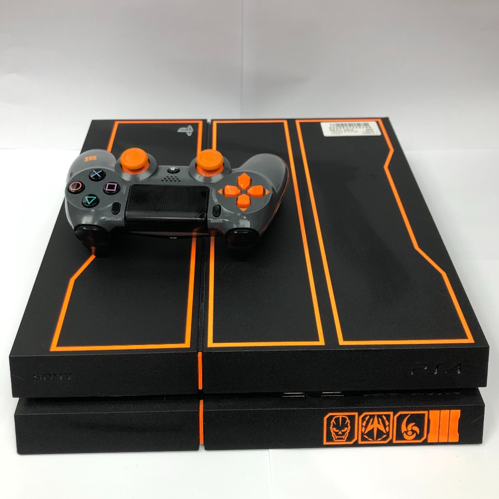 Product photo for PlayStation 4 1TB black ops special edition