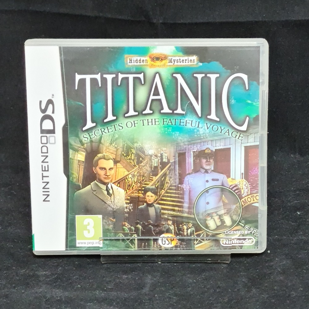 Product photo for Nintendo DS Game Hidden Mysteries Titanic