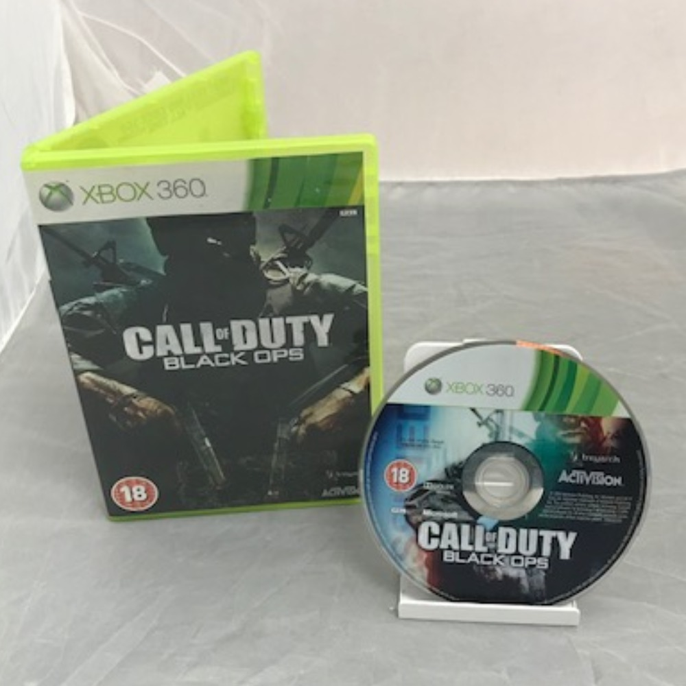 Product photo for Xbox 360 Game Call of Duty: Black Ops