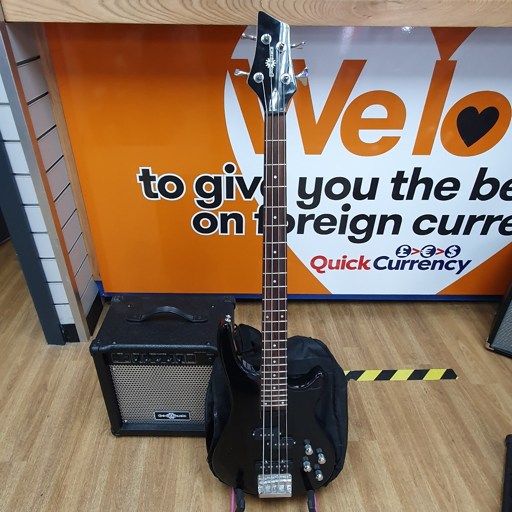 Product photo for Gear4Music Bass and Amp Package