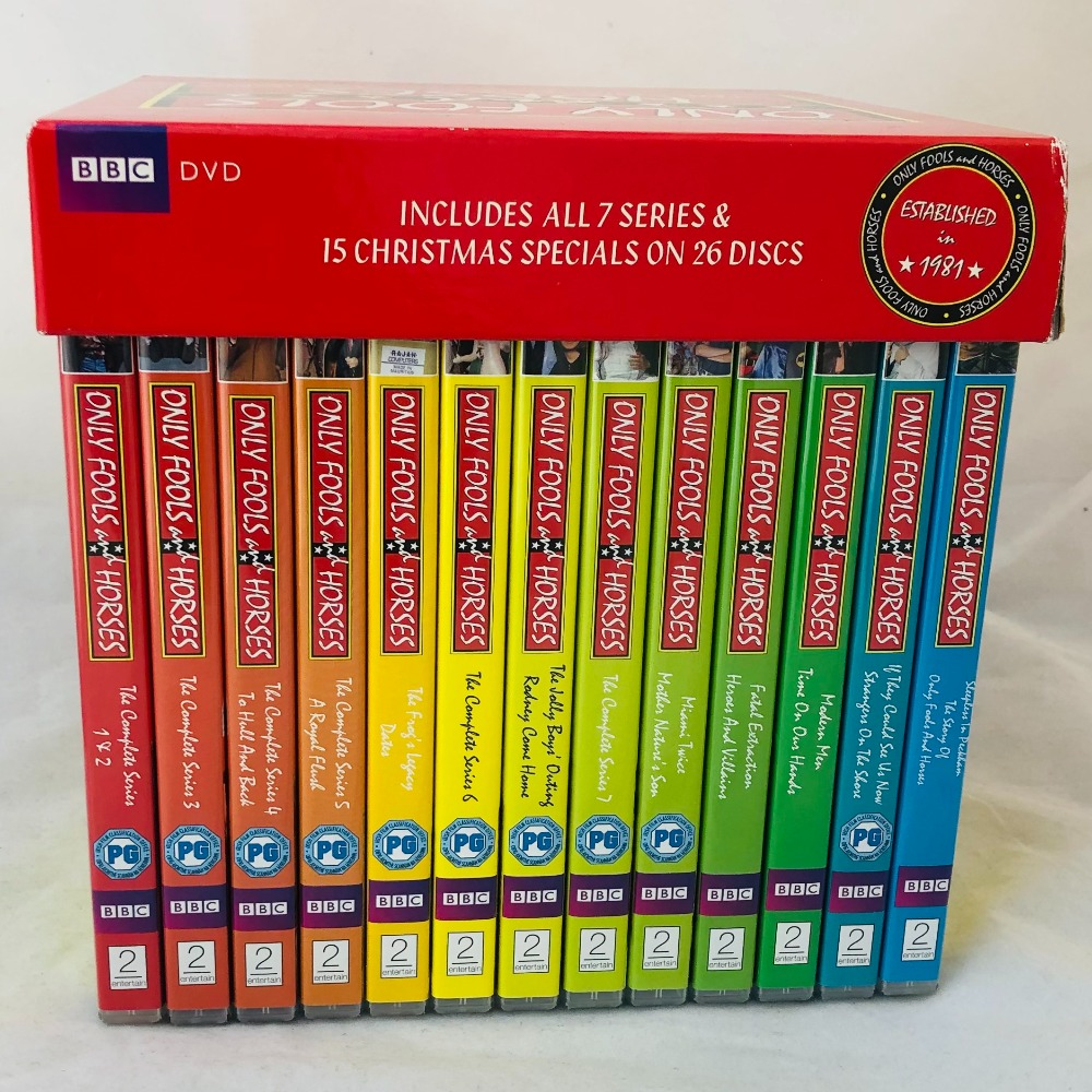 Product photo for ONLY FOOLS AND HORSES THE COMPLETE DVD COLLECTION