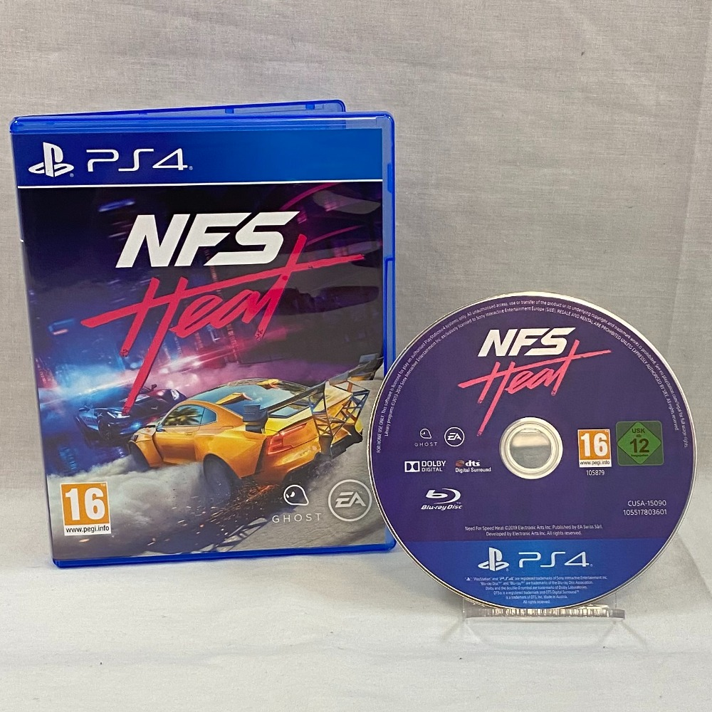 Product photo for Need For Speed (NFS) Heat - PS4