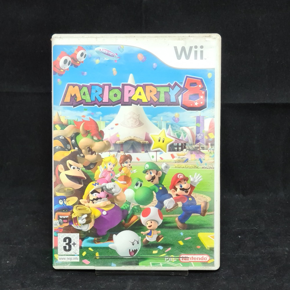 Product photo for Nintendo Wii Game Mario Party 8