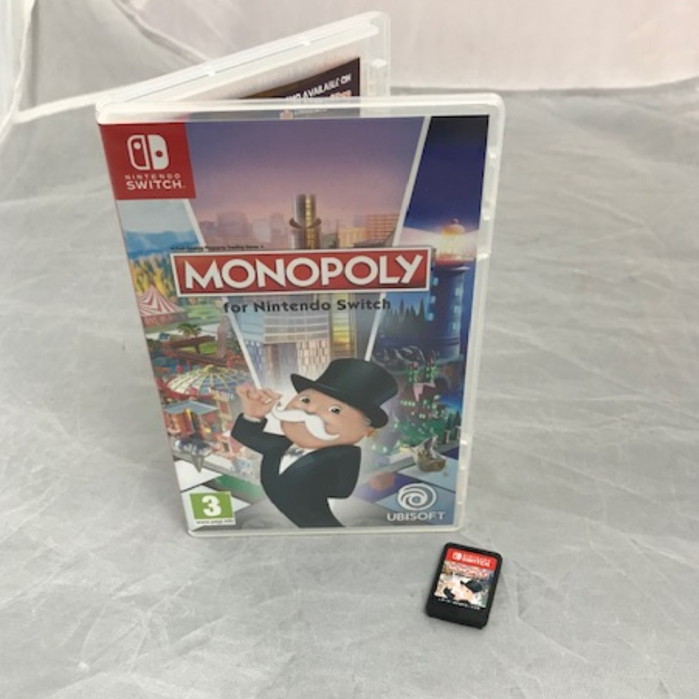 Product photo for Nintendo Switch Game Monopoly