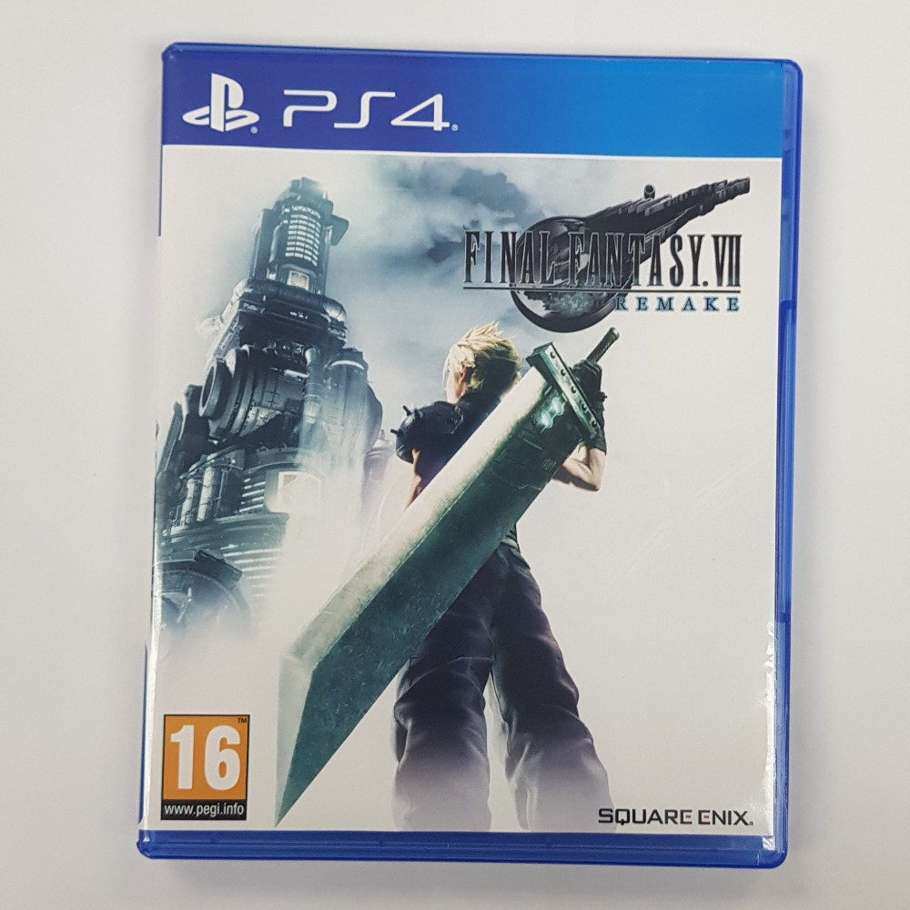 Product photo for Sony Final Fantasy VII Remake (PlayStation 4)