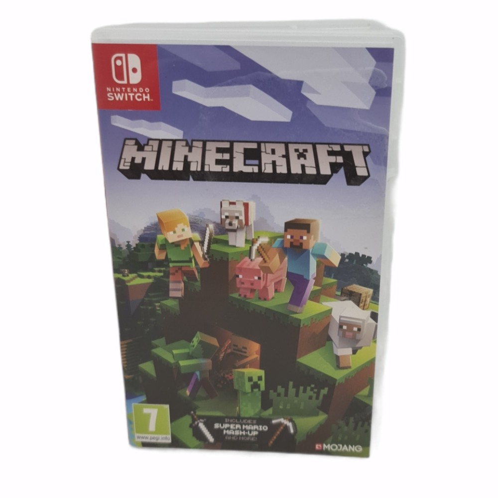 Product photo for Nintedo Switch game Minecraft