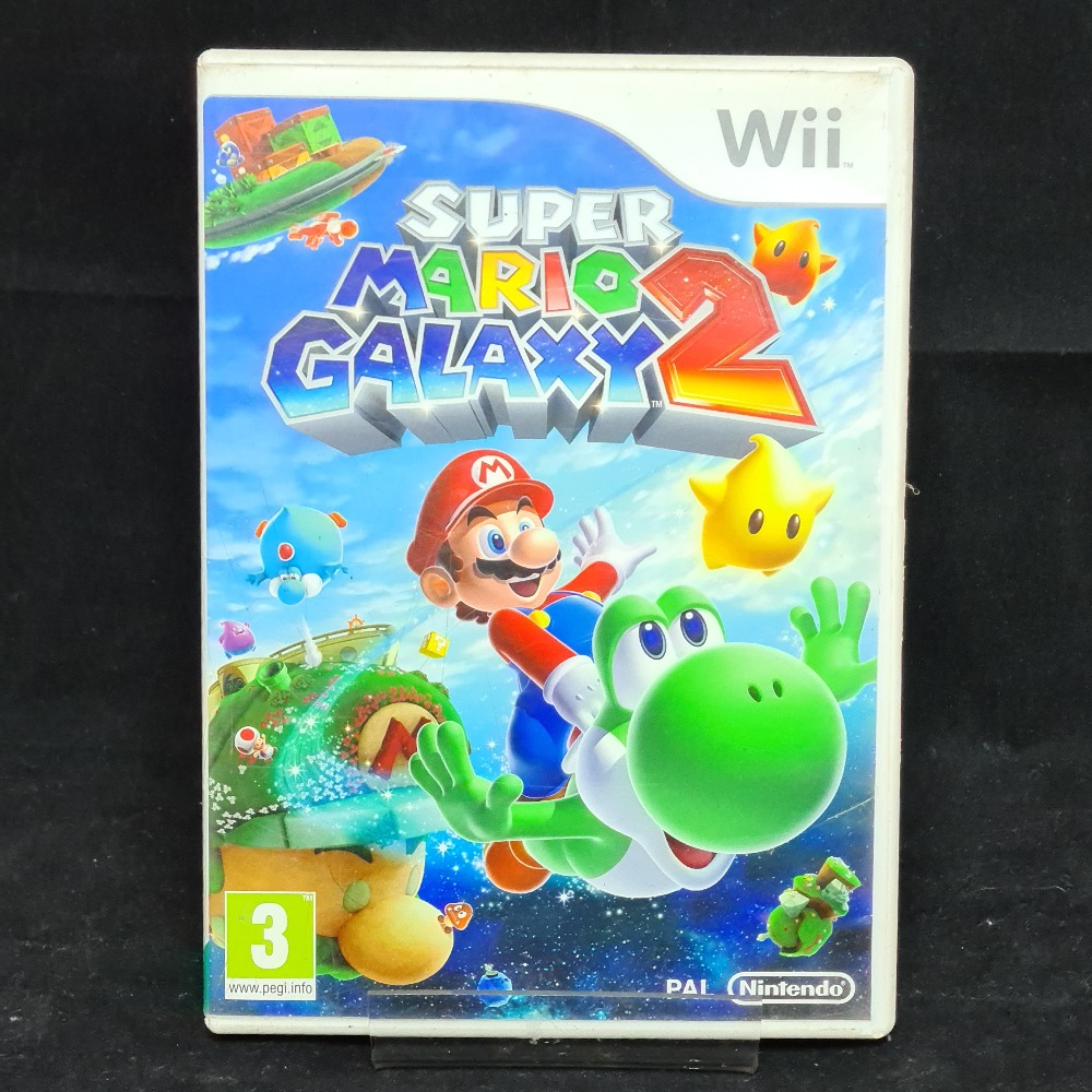 Product photo for Nintendo Wii Game Super Mario Galaxy 2