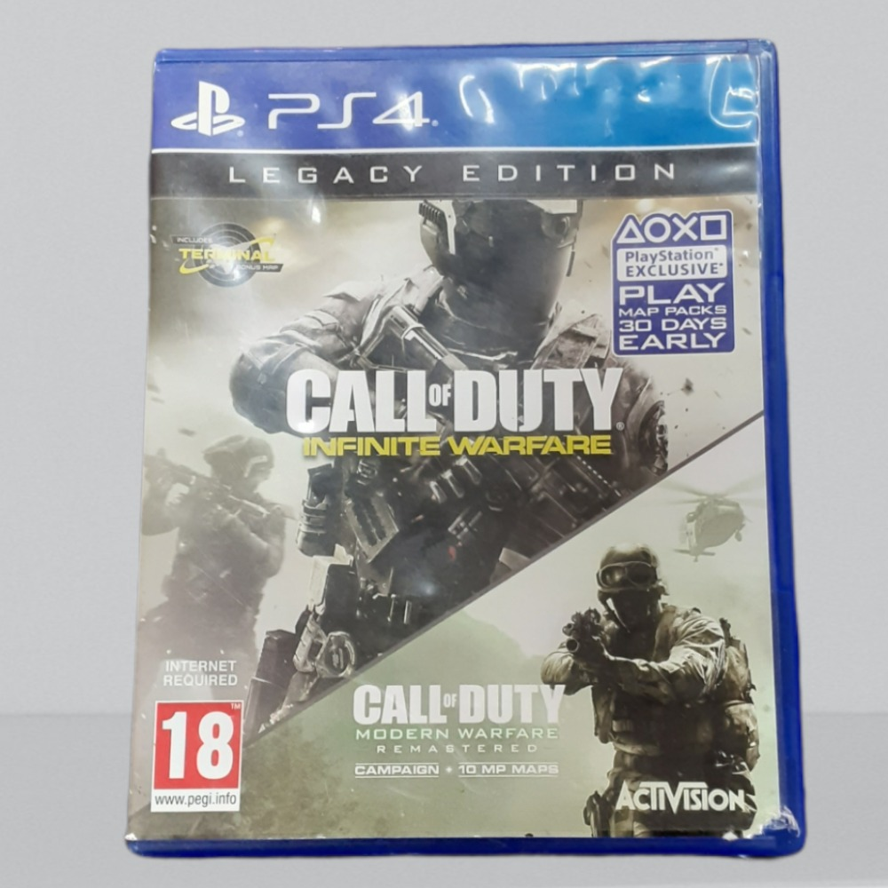 Product photo for PS4 Game Infinite Warfare