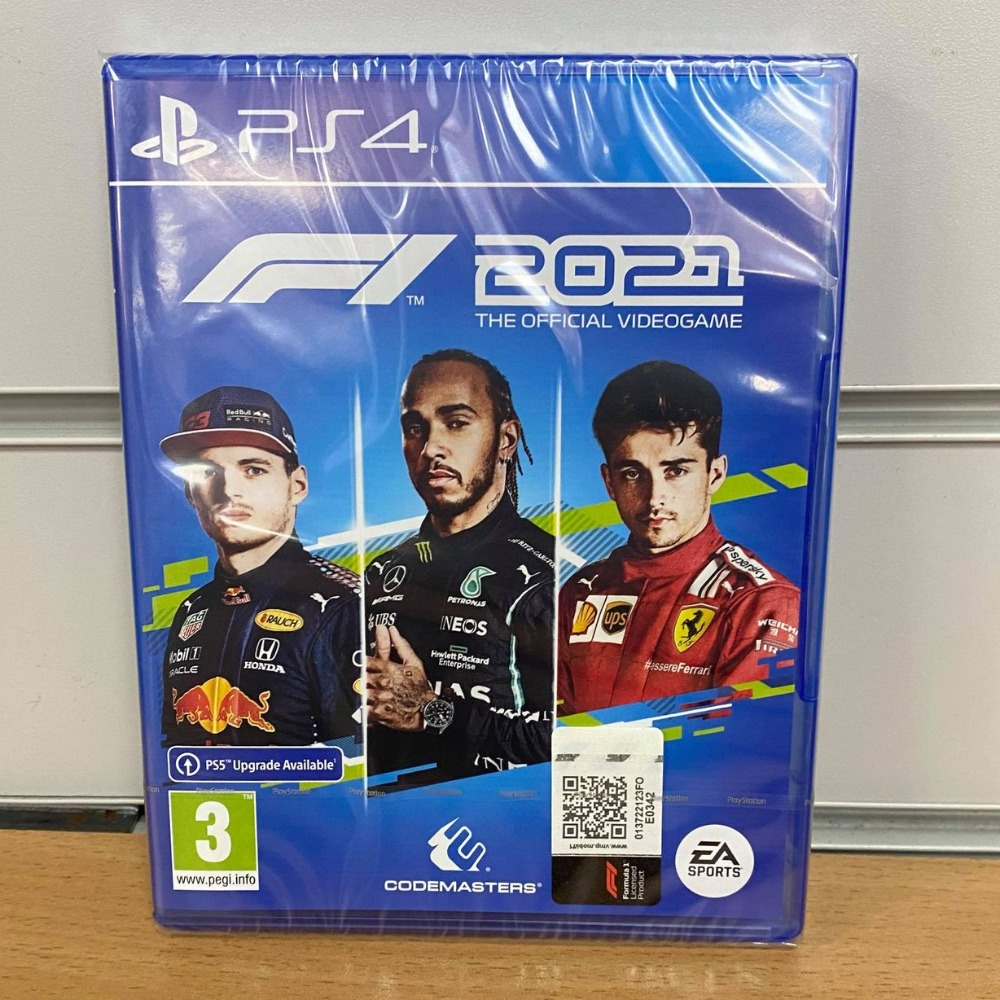 Product photo for !OUT NOW! Formula One - F1 2021 PS4 Game (Sealed)
