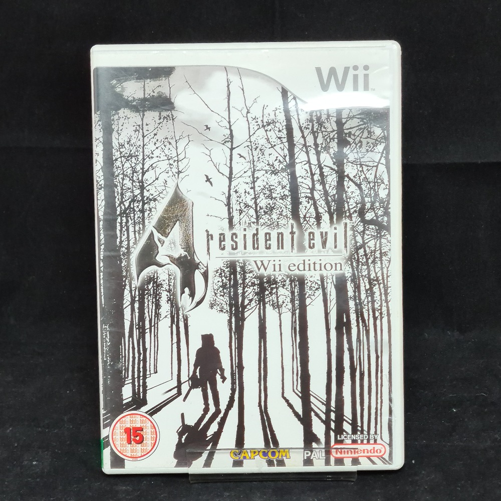 Product photo for Nintendo Wii Game Resident Evil 4