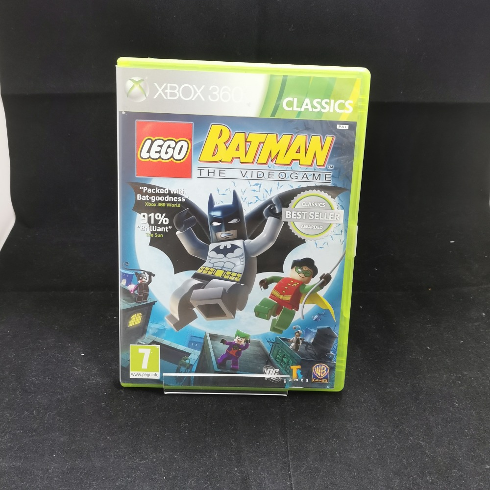 Product photo for xbox 360 game Lego Batman The Videogame