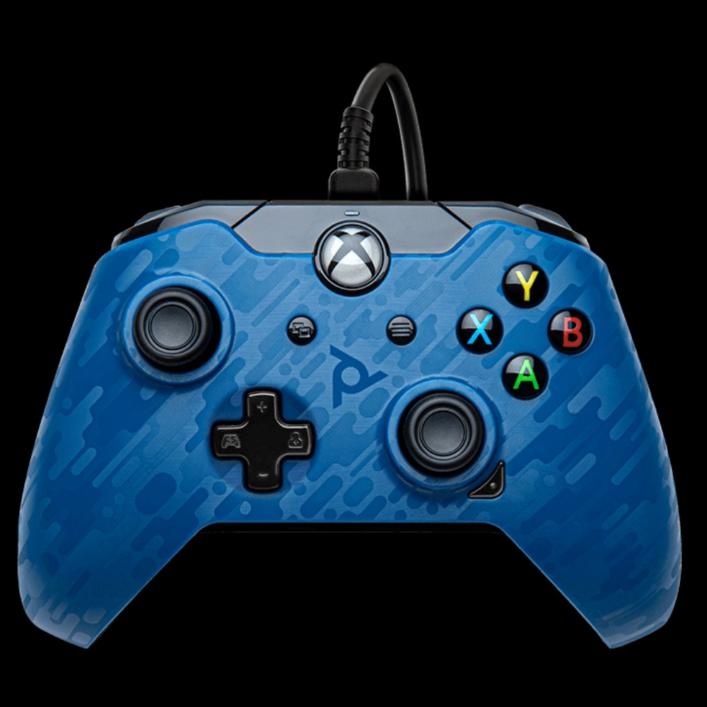 Product photo for PDP Gaming Wired Controller: Revenant Blue