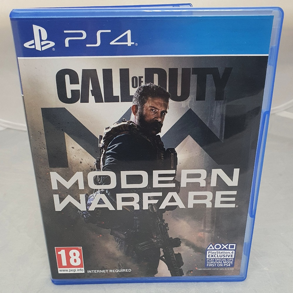 Product photo for Call of Duty Modern Warfare - PS4