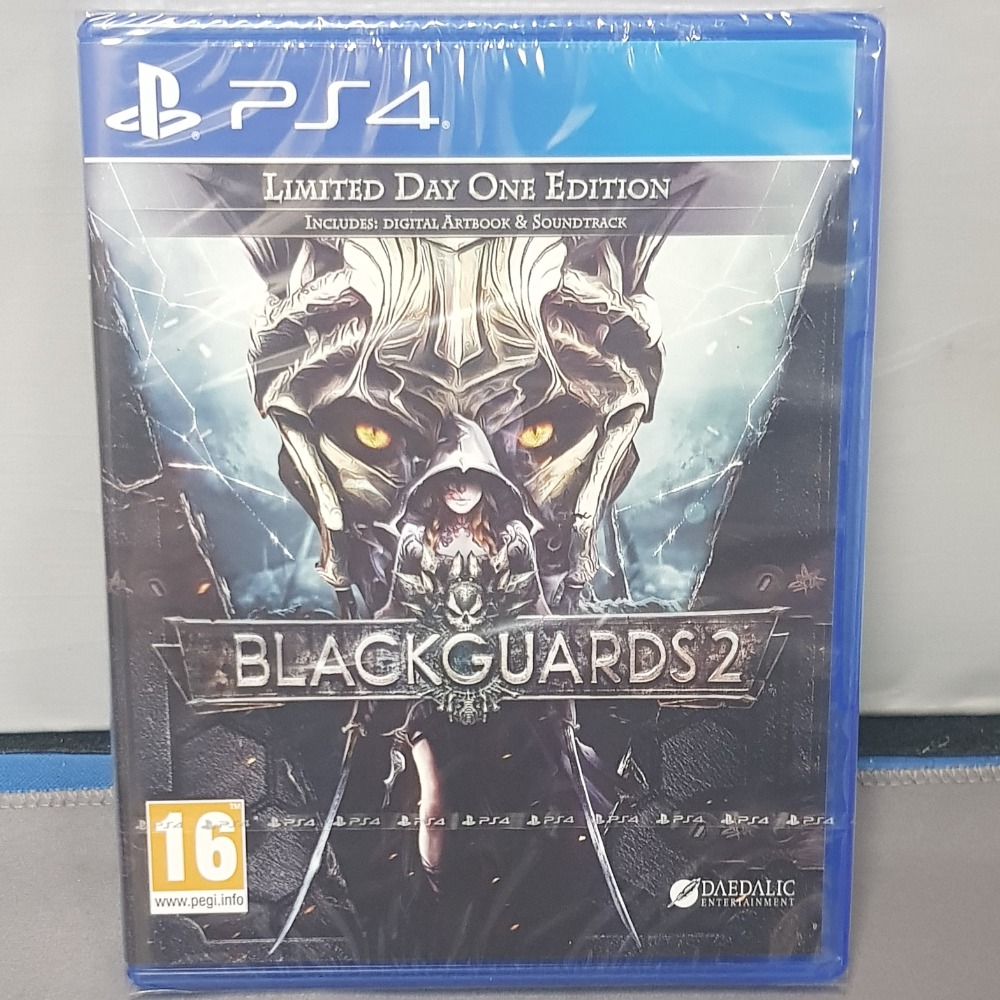 Product photo for Blackguards 2 Ps4