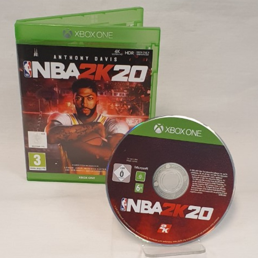 Product photo for NBA 2K20 - Xbox One