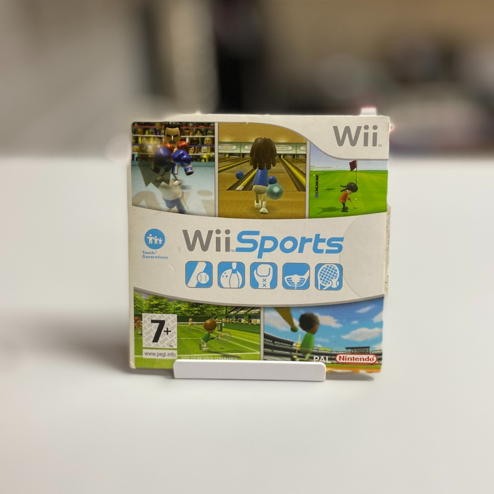 Product photo for Nintendo Wii Sports (Cardboard Sleeve)