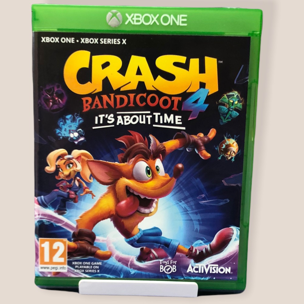 Product photo for  Xbox one game Crash Bandicoot 4: its about time