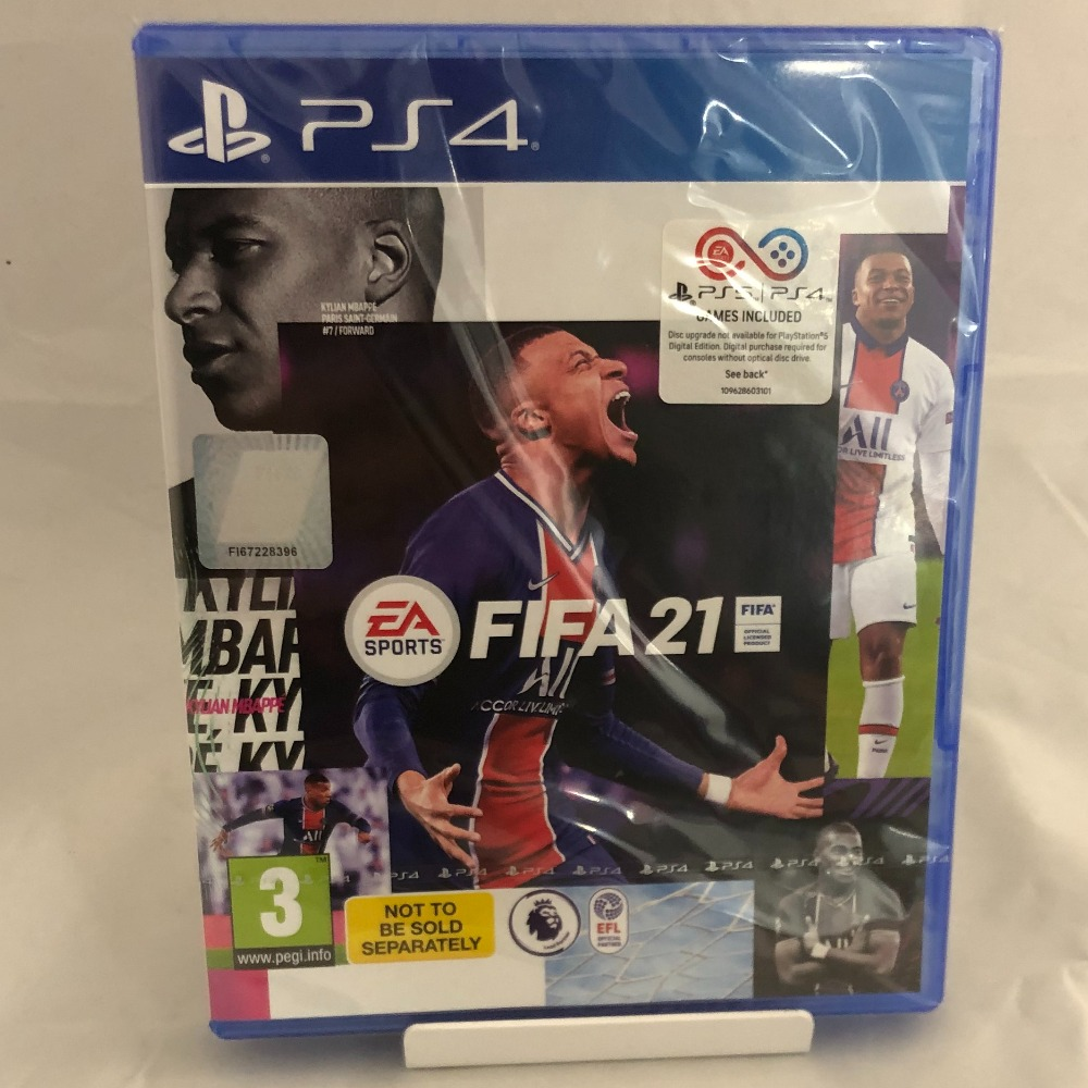 Product photo for Sony PlayStation 4 FIFA 21 - PS4 - Brand New & Sealed