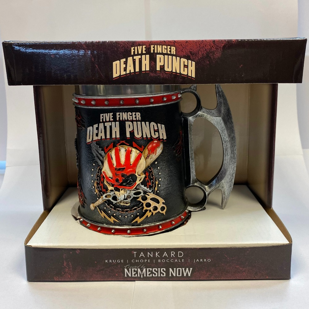 Product photo for Five finger death punch tankard ( WAS £49.99 )