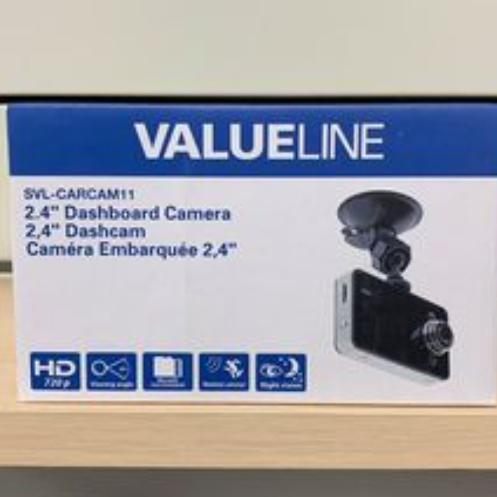 Product photo for Valueline Dash Camera