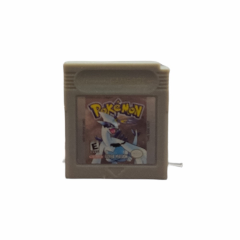 Product photo for Nintendo Gameboy game Pokemon Silver