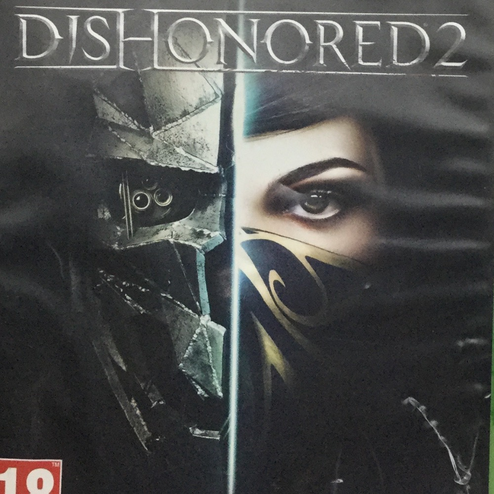 Product photo for Xbox One Game Dishonored 2