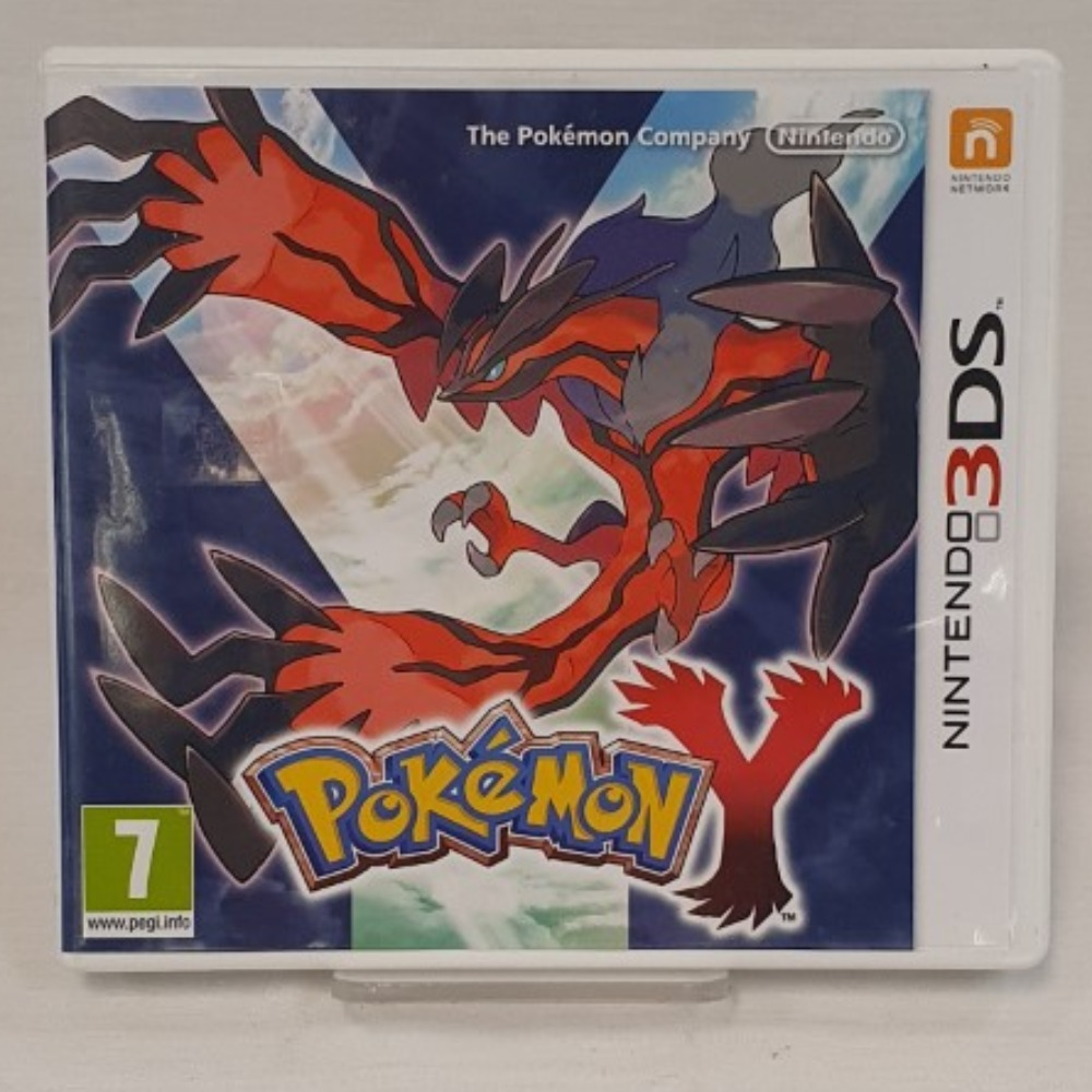Product photo for Pokemon Y (3DS)