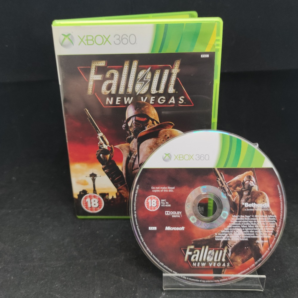 Product photo for  Microsoft Xbox 360 game Fallout New Vegas