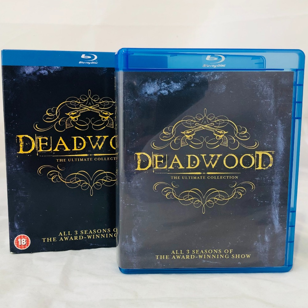 Product photo for Deadwood: Ultimate Collection Blu-ray