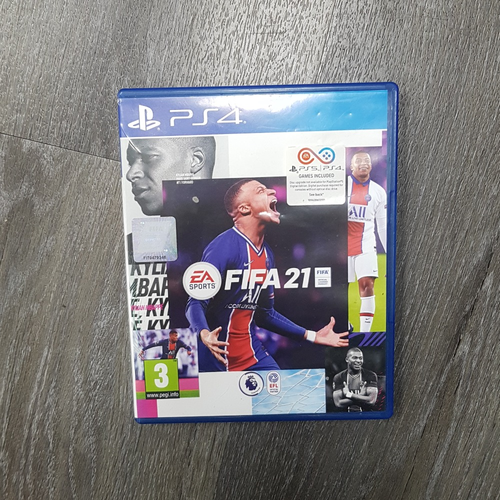 Product photo for Fifa 21 (PlayStation 4)