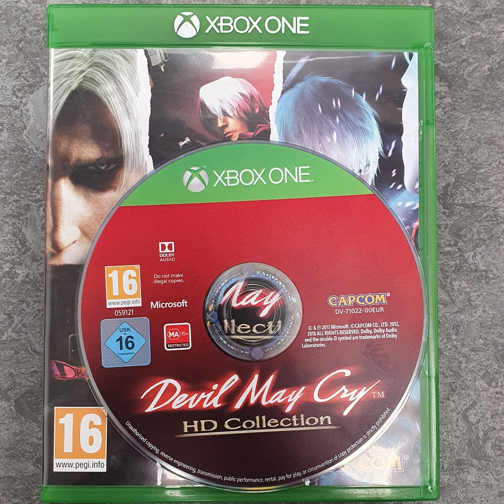 Product photo for  Xbox one game Devil May Cry: HD Collection (Xbox One)