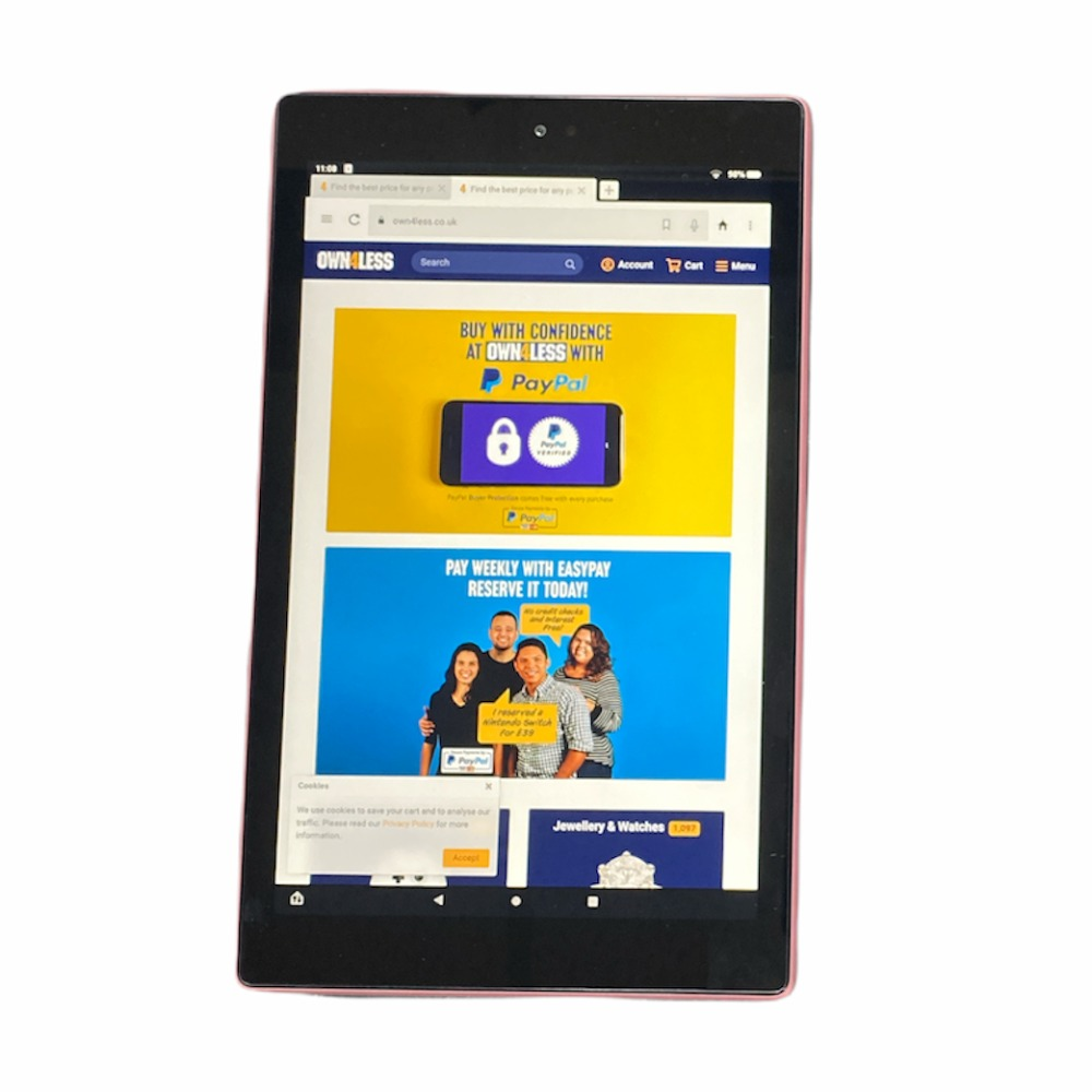 Product photo for Amazon Fire HD 10 64GB Wifi